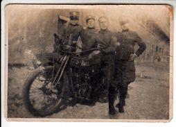 MOTO MOTORCYCLE INDIAN POWERPLUS MILITARI - FOTO ORIGINALE ANNI '20 - Photographs