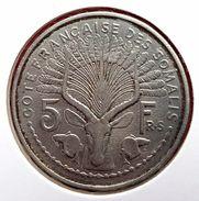 Côte Française Des Somalis : 5 Francs Frs 1948 -  Bel état - Colonies