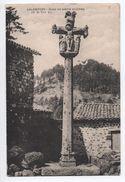 ARLEMPDES (43) - CROIX EN PIERRE SCULPTEE (M. H. XIIIè S.) - France