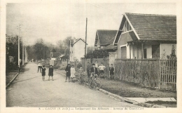 93 GAGNY LOTISSEMENT DES ABBESSES AVENUE DU GRAND-CERF ANIMEE - Gagny