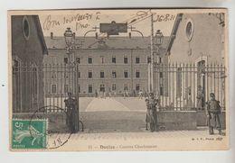 CPA MILITAIRE DECIZE (Nièvre) -  Caserne CharbonnierVue Générale - Decize
