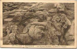 35 - ROTHENEUF - Les Rochers Sculptés - Le Guerrier Romain - Rotheneuf