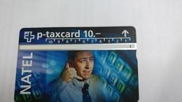 Switzerland-(v-76c)-telecom PTT-natel-(609l)-2.000-used Card+1card Prepiad Free - Suisse
