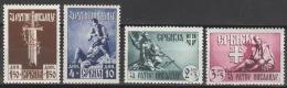 Serbien 86/89 ** Postfrisch - Occupation 1938-45