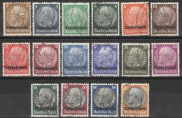 Lothringen 1/16 O - Besetzungen 1938-45