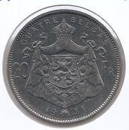 ALBERT I * 20 Frank / 4 Belga 1931 Frans  Pos.A * Prachtig * Nr 9685 - 1909-1934: Albert I