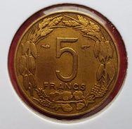 Afrique Equatoriale Française - Cameroun : 5 Francs 1958 - Colonies