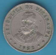 NICARAGUA 10 CENTAVOS DE CORDOBA  1952  KM# 17 - Nicaragua