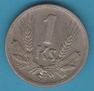 SLOVENSKA REPUBLIKA 1 KORUNA 1945 - Slovaquie