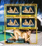 Somalia Block Sexy Erotik Model **/MNH - Cinderellas