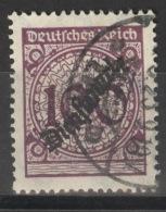 Deutsches Reich Dienst 104 O - Dienstpost