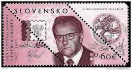 Slovakia - 2014 - Postage Stamp Day: Severín Zrubec - Mint Stamp With Original Perforation - Slowakije