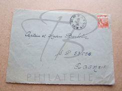 """VEND TIMBRE DE FRANCE N° 750  , CACHETS """" B.P.M. - 403.X.Y. """" , SUR FACADE !!! (f) - France"""