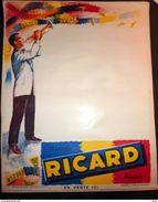 AFFICHE LITHOGRAPHIQUE RICARD LE TROMPETISTE - Manifesti