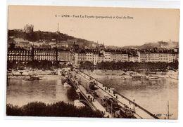 Tarjeta Postal De Lyon , Pont La Fayette. - Lyon