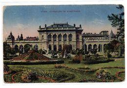 Tarjeta Postal  Circulada De Wien, Cursalon Im Stadtpark. - Viena