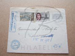 "VEND TIMBRES DE FRANCE N° 1095 + 1117 , CACHETS "" UNIVERSITE DE STRASBOURG "",SUR FACADE !!! - Briefe U. Dokumente"