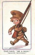 "FRED SPURGIN (illustrateur) -Enfant Soldat; Papa M'a Dit ""soit Un Homme"". - Spurgin, Fred"