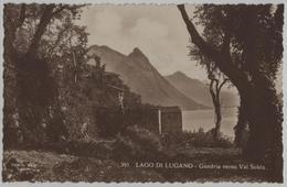 Lago Di Lugano - Gandria Verso La Val Solda - Photo: Ditta G. Mayr No. 391 - TI Tessin