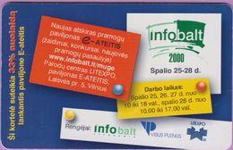 Télécarte Lituanie °° Nc - Infobalt – 2000 - 8975 - Lituanie