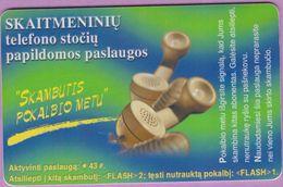 Télécarte Lituanie °° Nc - Skaitmeniniu Telefono Stociy – 7375 - Lituanie