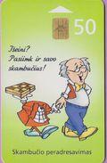 Télécarte Lituanie °° Nc - Skambucio Peradresavimas - 2000 – 3849 - Lituanie