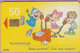 Télécarte Lituanie °° Nc -Konferencija -Reikia Pasitarti - 2000 – 0709 - Lituanie