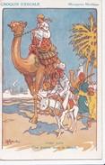Carte Vers 1910 Signée H. Gervèse : Croquis D'escale :PORT SAID :UNE POINTE DANS LE DESERT  (messageries Maritimes) - Gervese, H.