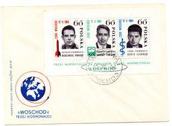 Carta  Con Hb-41  De Polonia. 1964 - Astrología