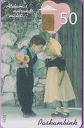 Télécarte Lituanie °° Nc - Paskambink - Jeunes Amoureux - 2000 – 3699 - Lituanie