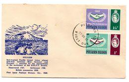 Carta De 1965 Pitcairn Island. - Sellos