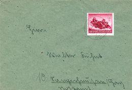 Dt. Reich 879 EF Portogenau Auf Fernbrief V. Scheltz üb. Wollstein 1944 - Briefe U. Dokumente