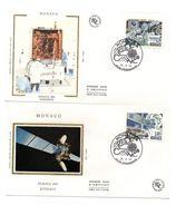 2 Sobres De Primer Dia De Monaco De 1991 - Astrología