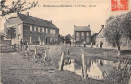 02 - AISNE / 02688 - Bergues Sur Sambre - Le Village - Centre - Beau Cliché - Léger Défaut - Other Municipalities
