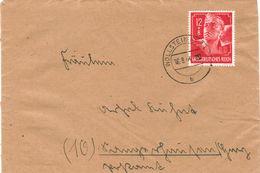 Dt. Reich 895 EF Portogenau Auf Fernbrief V. Wollstein (Posen) 1944 - Briefe U. Dokumente