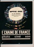 Catalogue De Matériel Photo Ciné Son ( Optic Soc Rue Mirebeau à Bourges ) Appareil Photo Caméra44 Pages 1963 - Material Y Accesorios