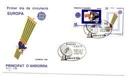 Sobre De Primer Dia De Andorra Española  De 1991 - Astrología