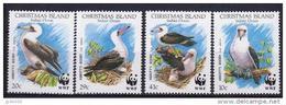 CHRISTMAS, WWF, Oiseaux, Yvert 314/17** Neuf Sans Charniere. MNH - W.W.F.