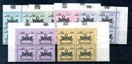 1968 VATICANO TASSE SC6V MNH** QUARTINE - Postage Due
