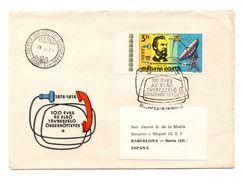 Carta De Hungria De 1976 - Astrología