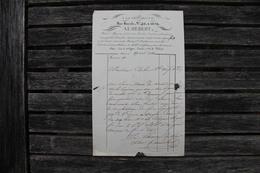 Facture Ancienne A La Providence épicerie à Sens (Yonne) 1834 - France
