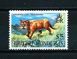 Honduras (Británica)  Nº Yvert  228a (filigrana CA Couché)  En Nuevo - British Honduras (...-1970)