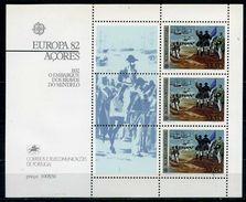 Açores YT Bloc 3 XX / MNH Europa - Açores