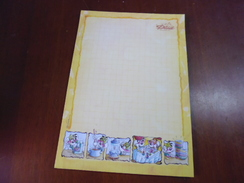 FEUILLE DIDDL DEBUT DES ANNEES 2000 ISSU COLLECTION IMPECCABLE LOT DE 31FEUILLES - Diddl