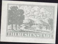 Druha Světova Valka World War II Ghetto Modèle Theresienstadt Judaica Croix Rouge Nazi Antisémitisme Juif  Propaga - Official Stamps