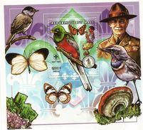 1997 Mali Boy Scouts And Birds Mushrooms Souvenir Sheet Of 1 MNH - Mali (1959-...)