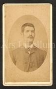 Photo-carte De Visite / CDV / W / Foto / Homme / Man / Photo J. Tibackx / Schaarbeek Bruxelles - Ancianas (antes De 1900)