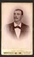 Photo-carte De Visite / CDV / W / Foto / Homme / Man / Photo C. Van Loo Smet / Gent - Ancianas (antes De 1900)