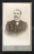 Photo-carte De Visite / CDV / W / Foto / Homme / Man / Photo Os. Wolff / Bruxelles - Ancianas (antes De 1900)