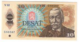 Czechoslovakia 10 Korun 1986 UNC .C. - Czechoslovakia